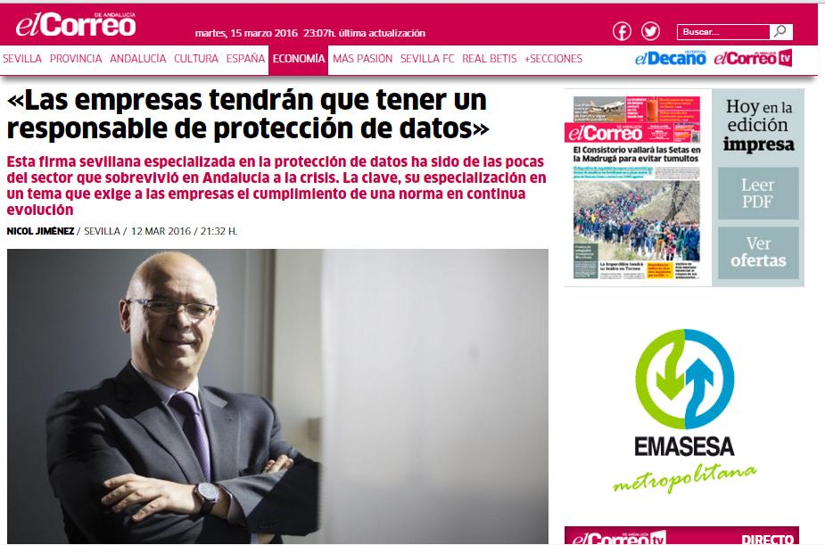 Casimiro gal n en el correo de andaluc a in diem abogados for Oficinas de correos en las palmas