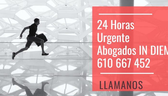 Abogado 24 horas Urgente IN DIEM - Sevilla Malaga Huelva Madrid Las Palmas Dos Hermanas Mairena Coria de Rio