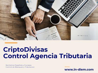 Monedas Virtuales y Agencia Tributaria. Criptodivisas-Control Hacienda-Anteproyecto Ley-Abogados especialistas en Criptomonedas-IN DIEM